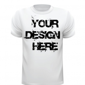 Round Neck Design Your Own T-Shirt