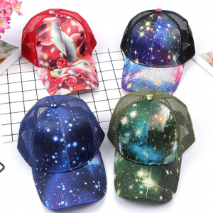 Unique Outdoor Rainbow Colours Baseball Cap