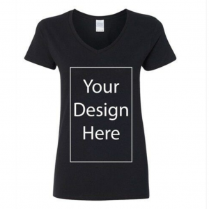 V Neck Design Your Own T-Shirt